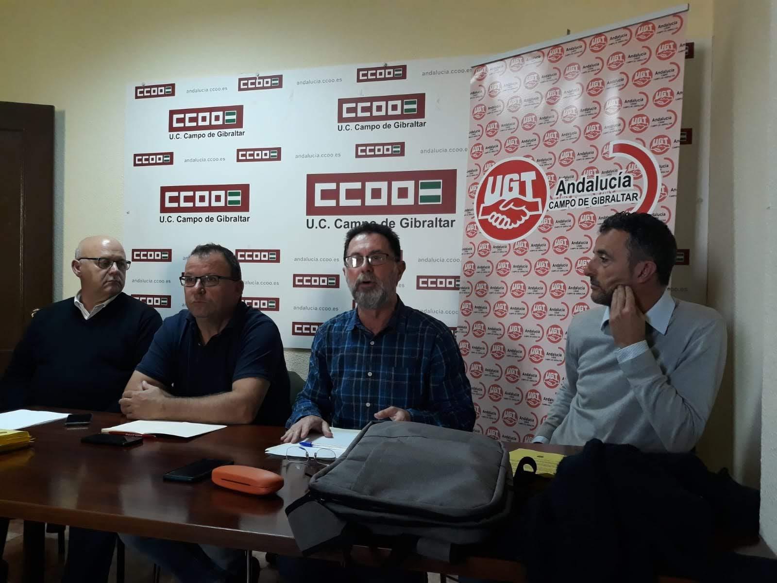 UGT Y CCOO convocan concentración trabajadores del transporte por carretera por su convenio colectivo