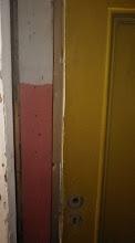 Photo: Ja muidugi ei olnud mingit probleemi hööveldamata saematerjali värvimisega.