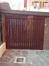 Photo: Porta garage verniciata