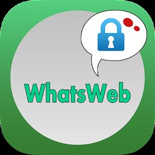 Lock WhatsWeb Tablet Multi for PC-Windows 7,8,10 and Mac apk screenshot 1