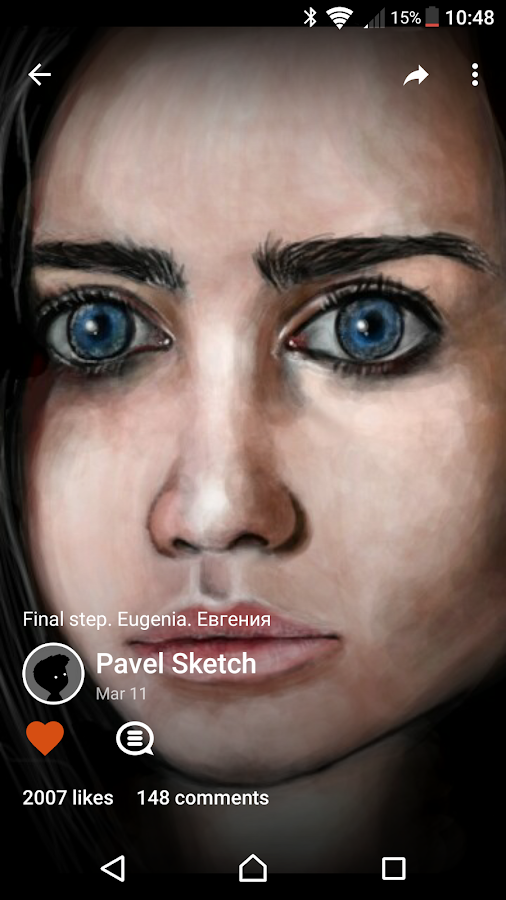 Screenshots of Sketch for Android