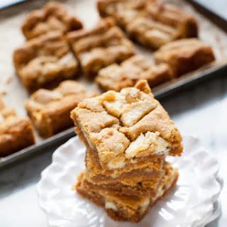 Peanut Butter Cookie Pie Bars.