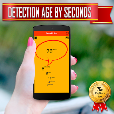 Age Detector, Calculator - screenshot