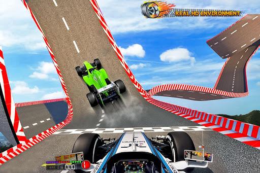 Formula Car Stunt  Race apkmr screenshots 2