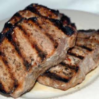 Italian Spiced Pork Chops.