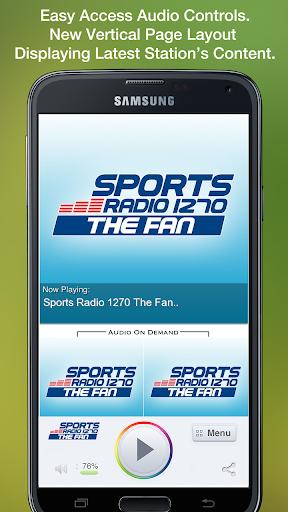 Sports Radio 1270 The Fan