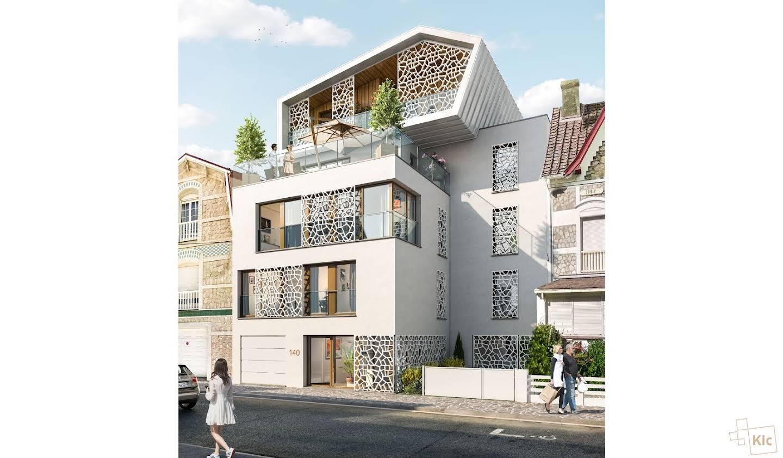Appartement contemporain avec terrasse en bord de mer Le Touquet-Paris-Plage