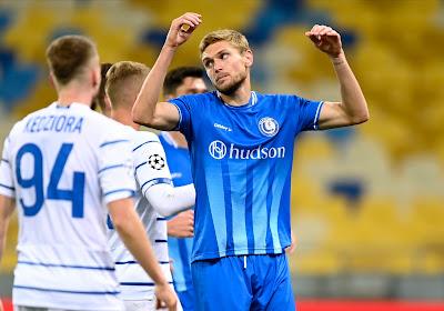 Geen Champions League-groepsfase voor KAA Gent na nederlaag op het veld van Dinamo Kiev