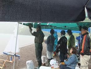 Photo: ・・・また雨が降り出しました。だれだ?雨、連れてきたのは!!