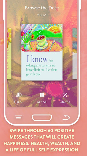 Screenshot for I Can Do It Cards by Louise Hay in United States Play Store