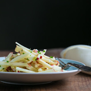 Apple, Manchego, and Chive Salad.