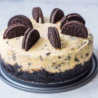 Pressure Cooker Oreo Cheesecake.