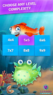 Fish Sudoku - cute puzzle- screenshot thumbnail