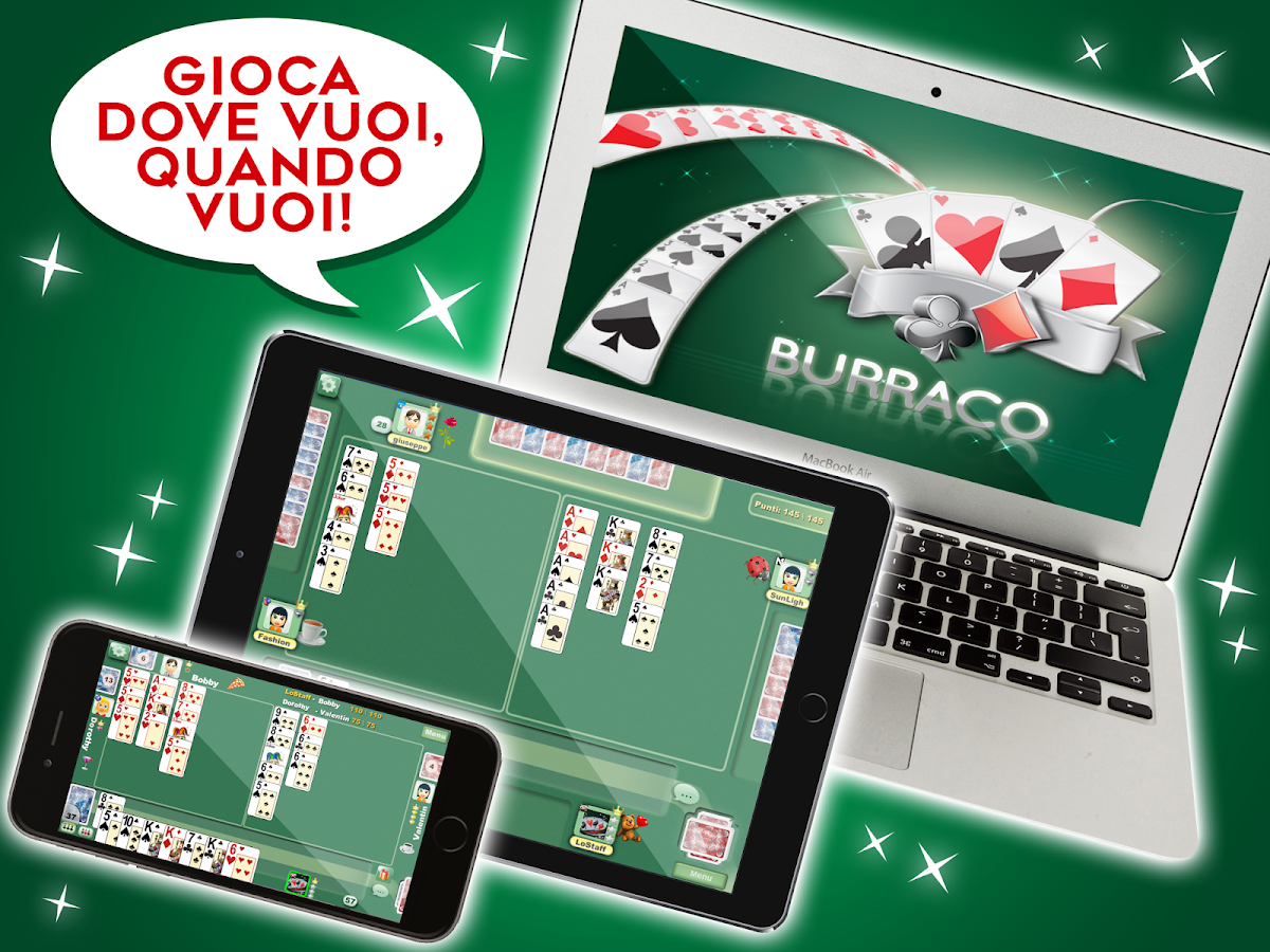 Burraco e Pinelle Online- screenshot
