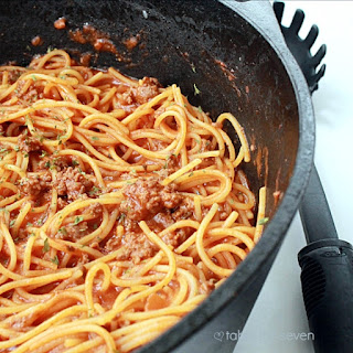 One Pot Spaghetti.