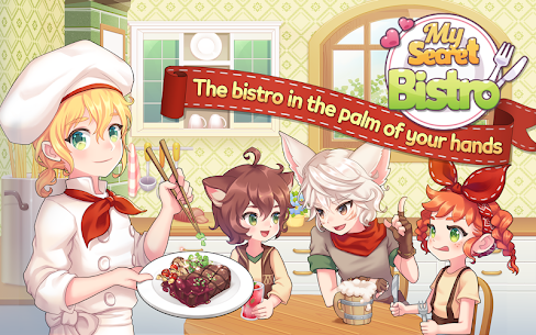 My Secret Bistro MOD Apk 1.6.4 (Unlimited Money) 1