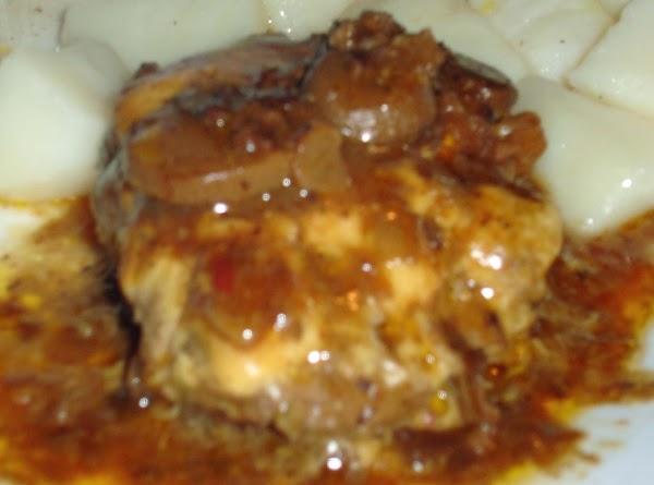Cheesy Hamburger Steaks Recipe