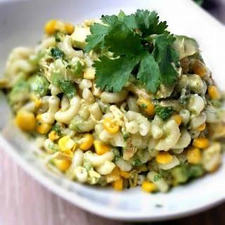Salsa Verde Mexican Pasta Salad Recipe