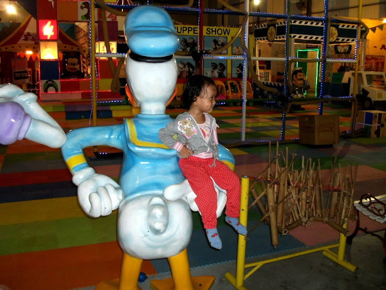 Many cute and interesting things inside Kids Kingdom