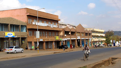 Photo: Lilongwe - Glyn Jones Road in the Old Town (Area 2)