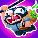 Rubber Robbers - Rope Raiders of the Lost Treasure icon