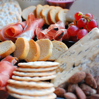 Cheese and Charticurie Platter.