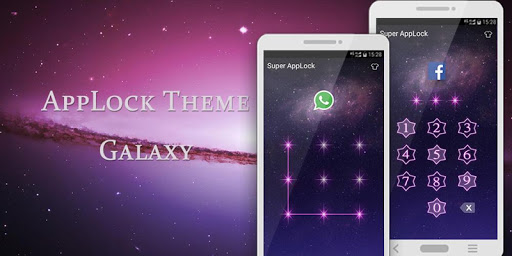 Applock Theme Galaxy