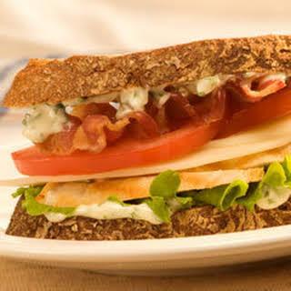 Chicken &  Basil Sandwiches.