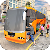 Off-road bus Driver Coach Simulator Games