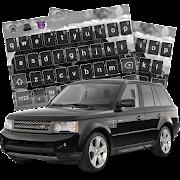 Black Sport SUV Range Car Keyboard Theme