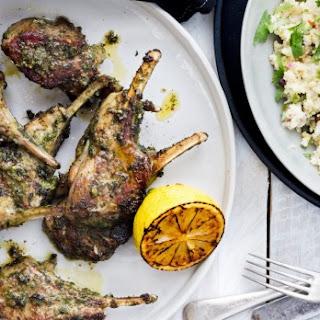Parsley And Coriander Lamb Chops
