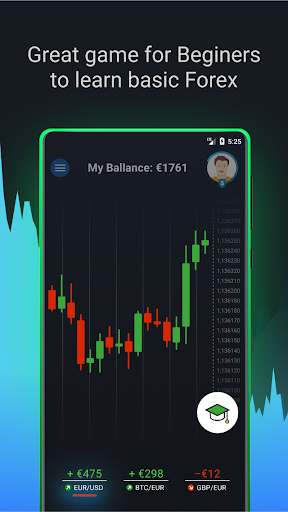 Forex Game - Online Stocks Trading For Beginners screenshots 1