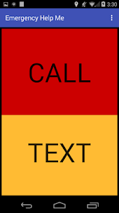 Emergency Help Me Call or Text - náhled