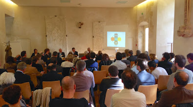 Photo: Un exemple concret de coopération présenté par Ahmed MAROUANI, directeur de l'Institut Préparatoire aux Etudes Littéraires et Sciences Humaines de Tunis
