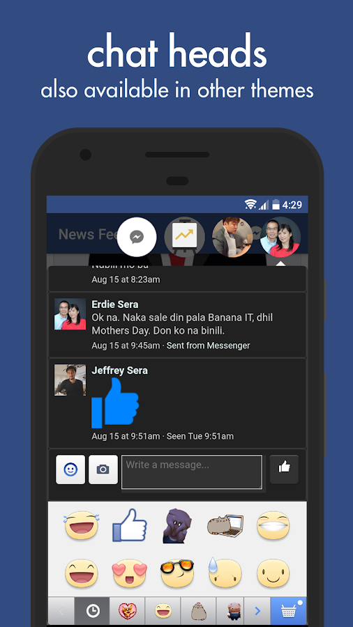 Swipe for Facebook Pro- screenshot