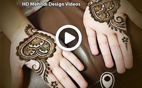 Mehndi Hands With Mobile : Simple mehndi designs videos tutorial 2018 app report on