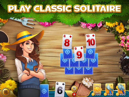 Solitales: Garden & Solitaire Card Game in One 1.105 screenshots 6
