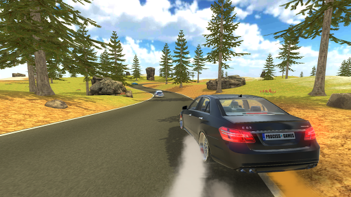 E63 AMG Drift Simulator 1.4 screenshots 6