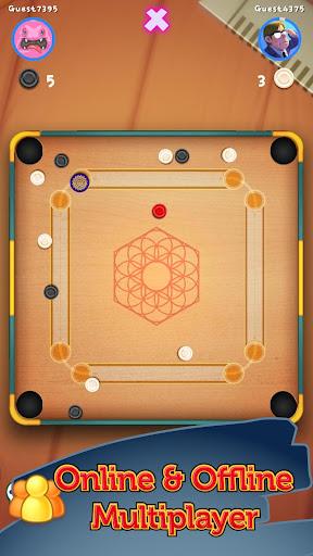 CarromBoard - Multiplayer Carrom Board Pool Game  screenshots 5