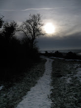 Photo: Hilltop Path In Winter