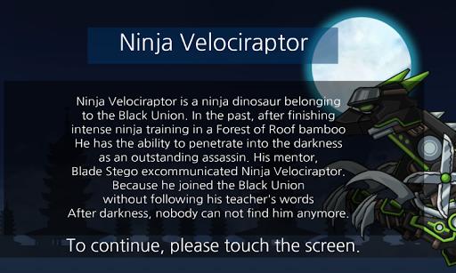 Ninja Velociraptor- Dino Robot