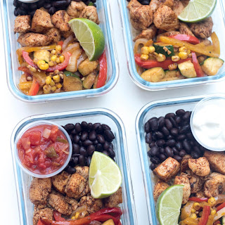 Tex-Mex Chicken Meal Prep Bowls.