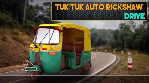Tuk Tuk Auto Rickshaw Drive