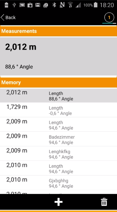 laserliner measurenote - android apps on google play, Badezimmer