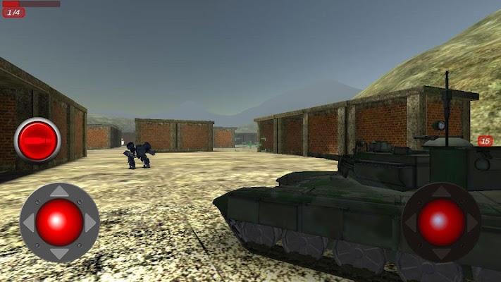Robot Shoot Tank - screenshot