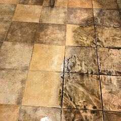 tile grout cleaning before after