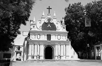 Photo: Luz Church at Mylapore - Built 1516 AD, Madras. It is said that St.Thomas used to pray here while he was preaching at this part. This church is originally built by missionaries from Portugal.