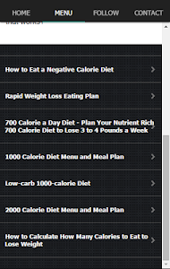 Exercise Calorie Counter Plan screenshot 4
