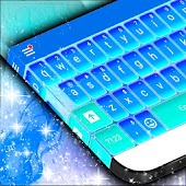 Blue Keyboard Skin For Android