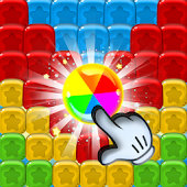 Toy Puzzle Blast: Logic Cubes Pop Blocks